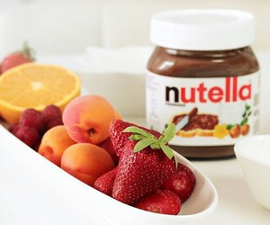 nutella, yummy, and food image