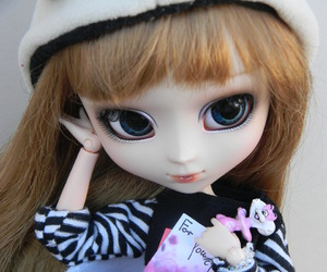 doll, miniature, and pullip image