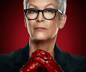scream queens and jamie lee curtis image