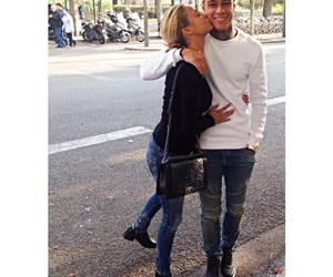 couple, kiss, and gregory van der wiel image