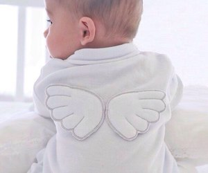 angel, baby, and cute image
