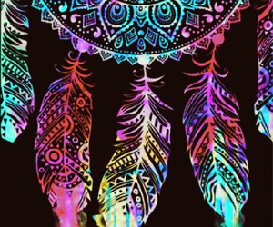 color, dreamcatcher, and light image