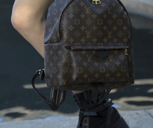backpack and Louis Vuitton image