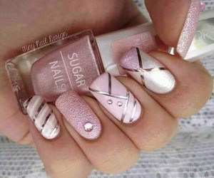 nails, ongles, and jolis image