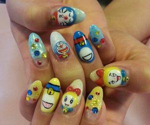 doraemon and nails image