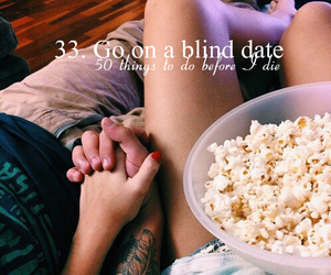 blind date, couple, and date image