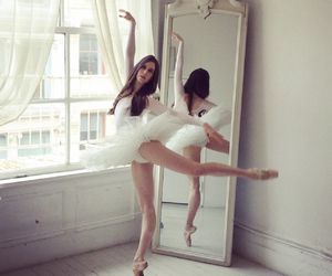 ballet, dress, and hair image