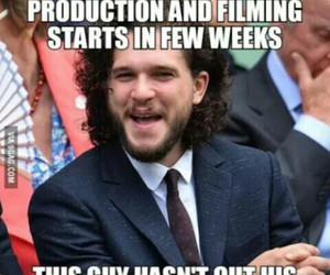 game of thrones, jon snow, and quote image