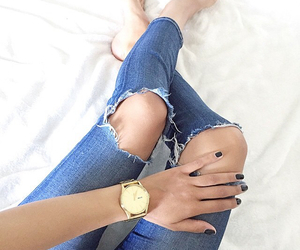 blue, fashion, and jeans image