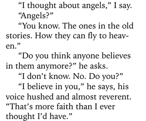 angels, believe, and book image