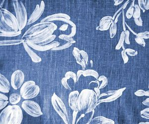 blue and white and fabric swatch image