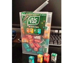food, sweet, and tic tac image