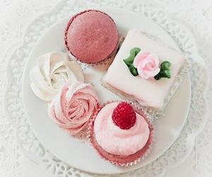 sweet, cupcake, and pink image