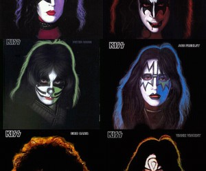 gene simmons, paul stanley, and kiss band image