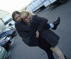 criminal minds, kirsten vangsness, and matthew gray gubler image