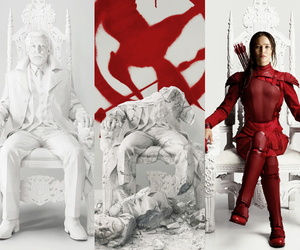 the hunger games, tgh, and the mockingjay image