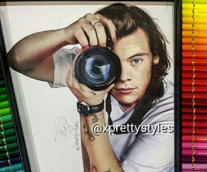 Harry Styles, art, and drawing image
