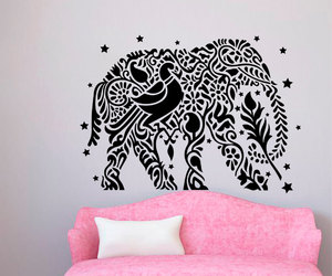 Ganesha, wall decals, and indian decor image