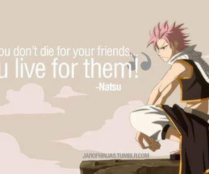 quote and natsu dragneel image