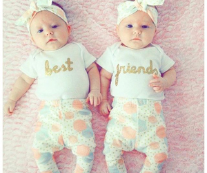 babies, beautiful, and twins image