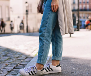 fashion, tumblr, and adidas image