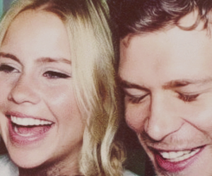 claire holt and joseph morgan image