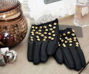 gloves and fashion image