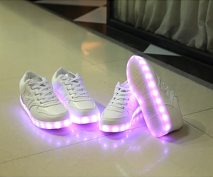 shoes, tumblr, and neon image
