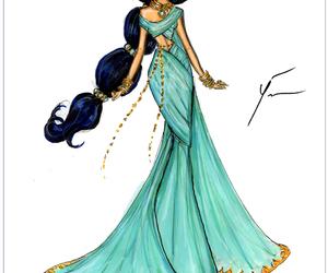 princess, disney, and jasmine image