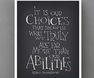 dumbledore, harry potter, and quote image