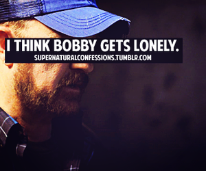 bobby and supernatural image