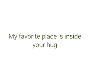 quotes, hug, and love image