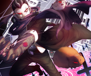 anime, guy, and illustration image