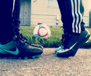 love, soccer, and football image
