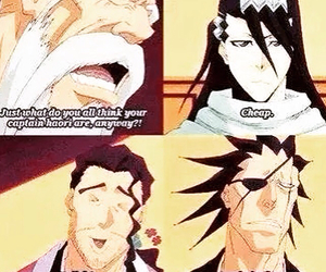 bleach, kenpachi, and anime image