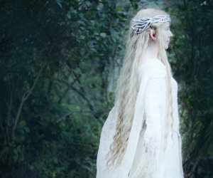 girl and galadriel image