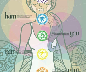 chakra, magic, and meditation image