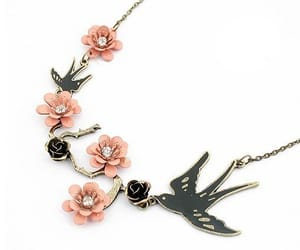 necklace and sparrows image