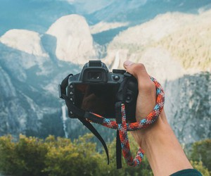 nature, camera, and mountains image