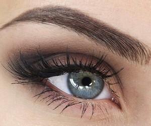 make up, eye, and beauty image