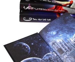 book, cinder, and scarlet image