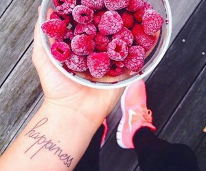 fruit, food, and nike image