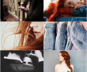 Collage, fan art, and red hair image