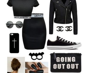 bad girl, converse, and fashion image
