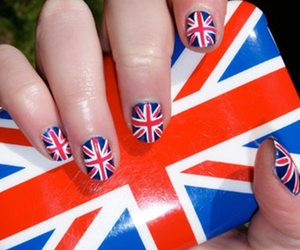 nails, england, and pretty image