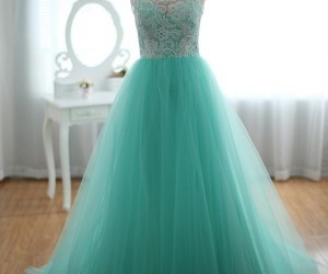 dress, blue, and lace image