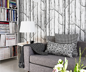 decor, interior, and tree image