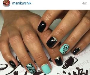 nails, nails polish, and nails art image