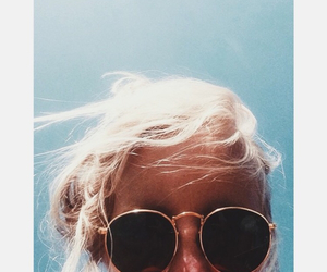 blonde, cool, and girl image