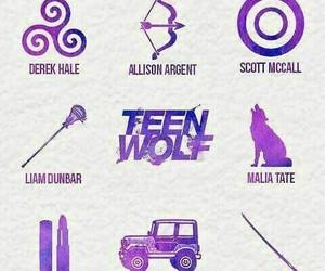 teen wolf, derek hale, and scott mccall image